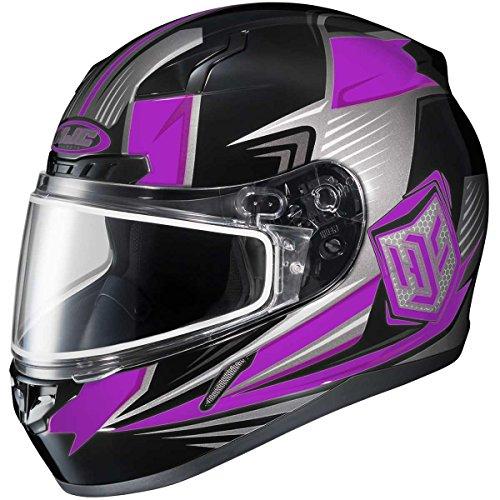 HJC Striker Adult CL-17 Snocross Snowmobile Helmet - MC-8  Small
