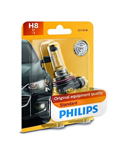 Philips H8 Standard Headlight Bulb Pack of 1