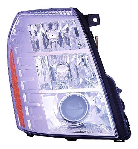 Depo 332-11B3R-ASHN Head Lamp Assembly Cadillac Escalade 09-14Escalade Esv 07-14ExtHybrid 09-13with Hid 2Nd Design
