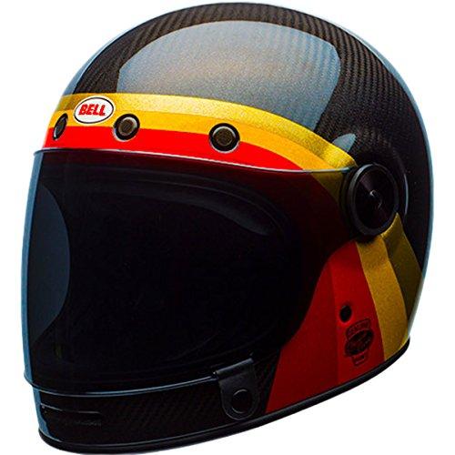 Bell LE Bullitt Carbon Chemical Candy BlackGold Full Face Helmet XL