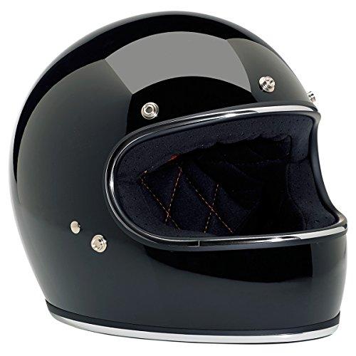 Biltwell Inc Gringo Gloss Black Full Face Helmet XL