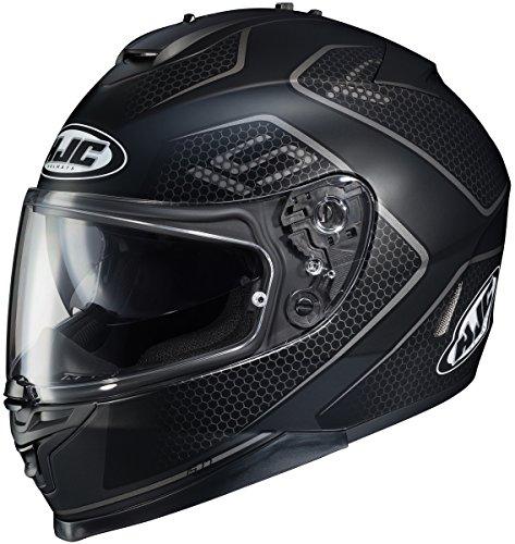 HJC IS-17 Lank BlackGray Full Face Helmet XL