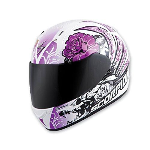 Scorpion EXO EXO-R410 Novel Purple Full Face Helmet XL