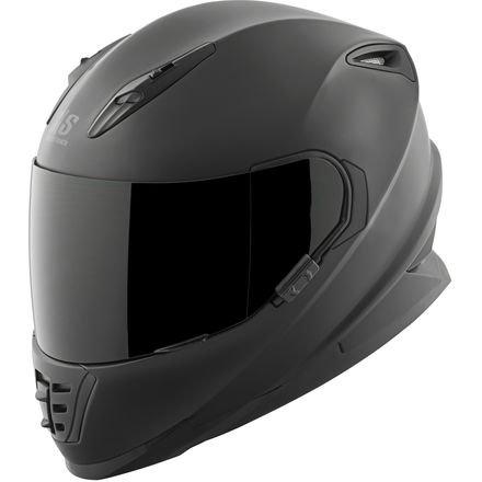 Speed and Strength SS1310 Under The Radar Matte Black Full Face Helmet XL