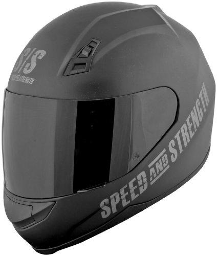 Speed and Strength SS700 Go For Broke Black Full Face Helmet XL