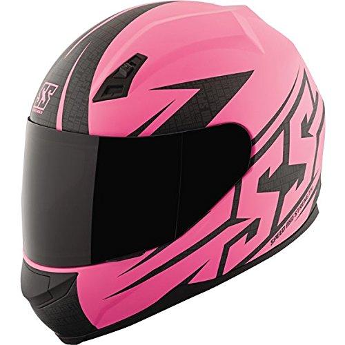 Speed and Strength SS700 Hamer Down Matte Pink Full Face Helmet XL