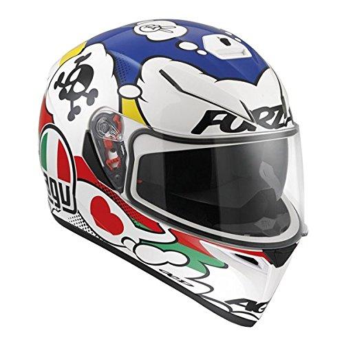 AGV K3 SV Adult Comic Street Motorcycle Helmet - Multi  MediumLarge
