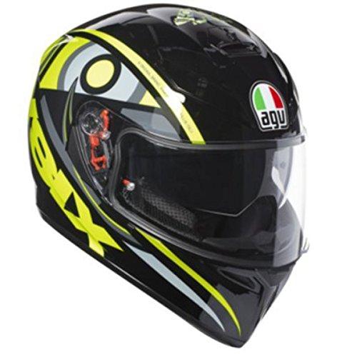 AGV K3 SV Adult Solun VR46 Street Motorcycle Helmet - Multi  SmallMedium