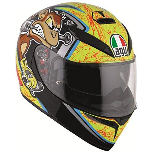 AGV K3 SV Bulega Motorcycle Helmet XS - DOT-Approved