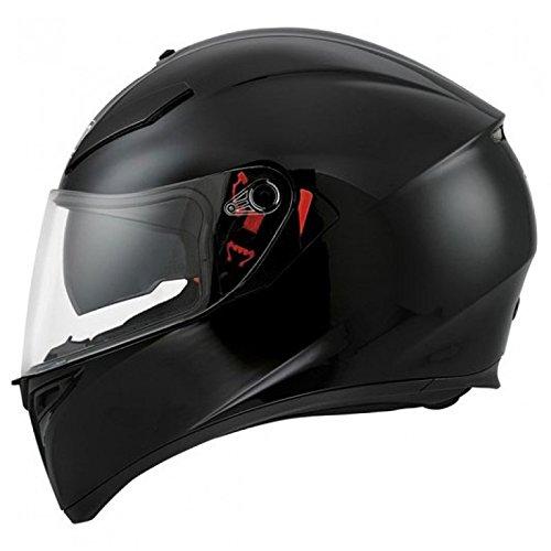 AGV K3-SV DVS Inner Sun Visor Full Face Motorcycle Helmet - Gloss Black S