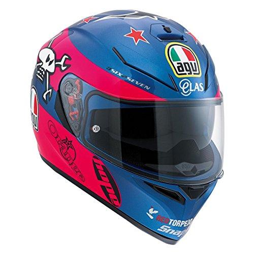 AGV K3 SV Guy Martin Replica Motorcycle Helmet XS - DOT-Approved