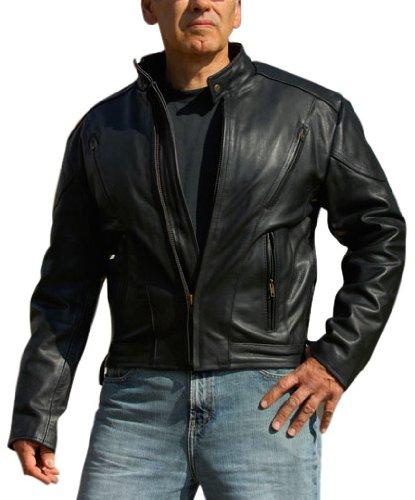 Interstate Leather Men's Touring Jacket (large)
