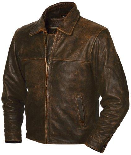 Sts Ranchwear Men's The Rifleman Leather Jacket (rustic Rawhide Brown, Medium)