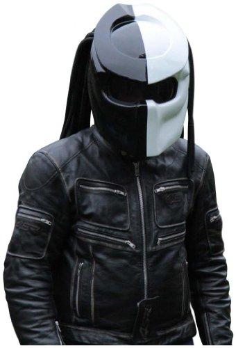 X-FF Fiber Factory - Predator Motorcycle Helmet - X1 Double Power XL