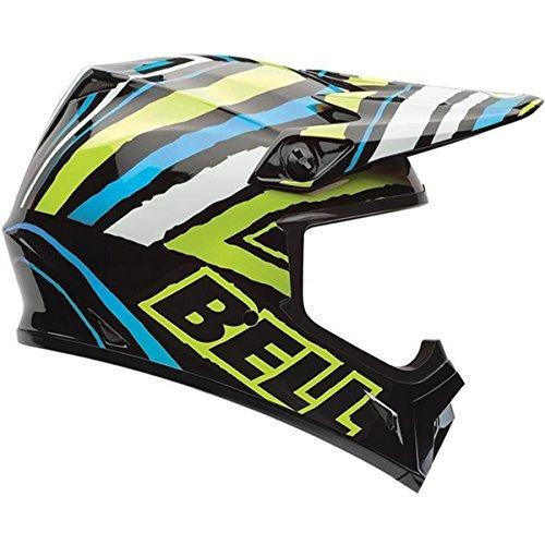 Bell MX-9 Tagger Scrub Psycho Motocross Helmet - Large