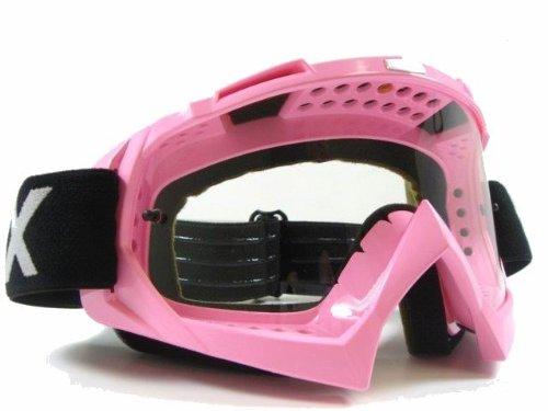 Pink Dirt Bike Atv Motorcycle Motocross Goggles