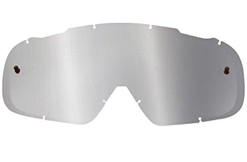 Fox Racing AIRSPC Lexan Anti-Fog Adult Replacement Lens MotoXOff-RoadDirt Bike Motorcycle Eyewear Accessories - Chrome Spark  One Size