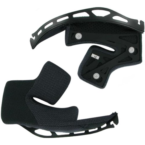 Shoei Cheek Pad Set Hornet DS Dirt Bike Motorcycle Helmet Accessories - Size 39mm