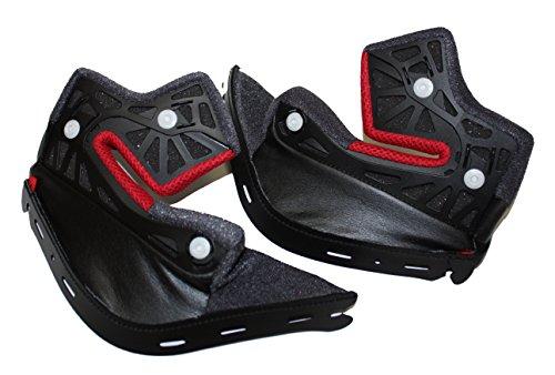 Shoei Cheek Pads for RF-1200 Helmet - 35mm Sm-XL 0209-4005-35