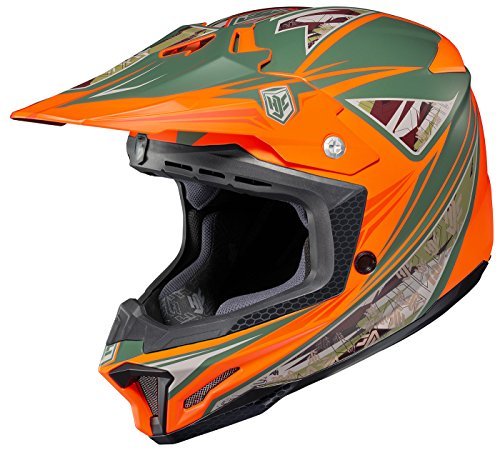 HJC CL-X7 Dynasty Off-Road Motocross Helmet MC-6F Large