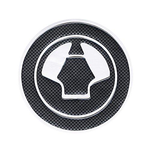 Motorcycle Parts Racing Fiber Fuel Gas Cap cover Tank Protector Pad Sticker Decal For Kawasaki Ninja 650R All Year