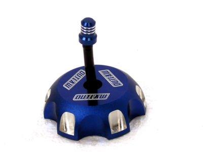 Outlaw Racing Blue Billet Gas Fuel Cap Kawasaki KX250F KX450F 06-10