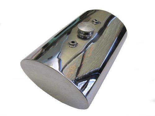 Stainless Steel Oil Tank for Custom Motorcycles  Harley Chopper Bobber - Oval