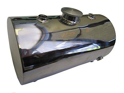 Stainless Steel Oil Tank for Custom Motorcycles  Harley Chopper Bobber - Round