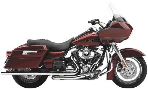 Cobra Speedster Duals Chrome Complete Exhaust System for 2010-2011 Harley David
