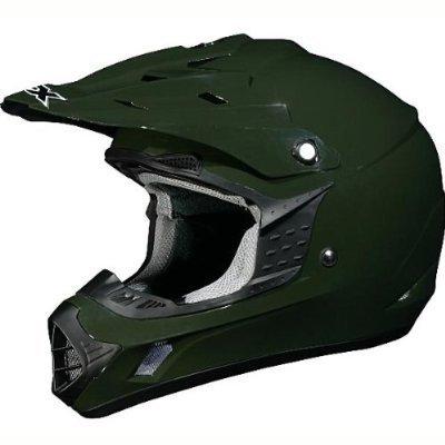 AFX FX-17 Solid Helmet  Size Md Primary Color Green Helmet Type Offroad Helmets Helmet Category Offroad Distinct Name Olive Gender MensUnisex 01101758