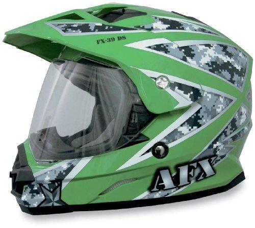 AFX FX-39 Urban Helmet  Size XS Primary Color Green Helmet Type Offroad Helmets Helmet Category Offroad Distinct Name Green Urban Gender MensUnisex 0110-2800
