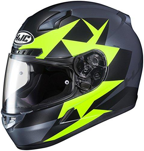 HJC XF-10-0851-2833-08 CL-17 Ragua Helmet Size 2XL Distinct Name MC-3SF Gender MensUnisex Primary Color Green Helmet Category Street Helmet Type Full-face Helmets
