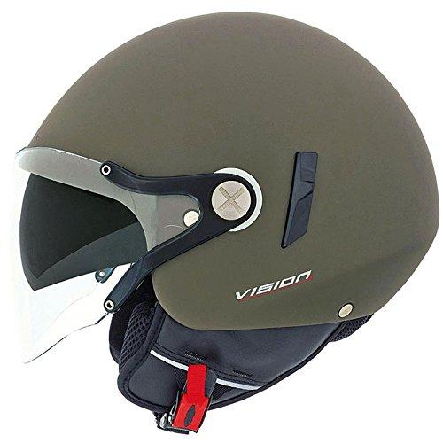 Nexx SX60 Vision VF2 Helmet - Military Green - L