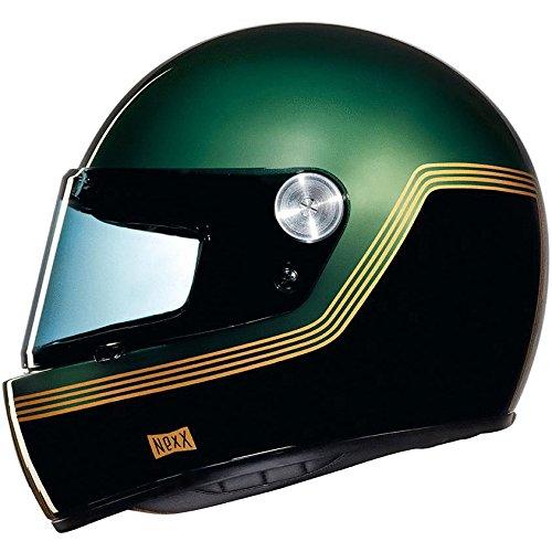 Nexx XG100R Racer Helmet - Motordrome Green - S