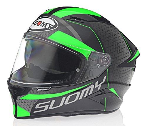 Suomy Speedstar Rap Green Helmet size Medium