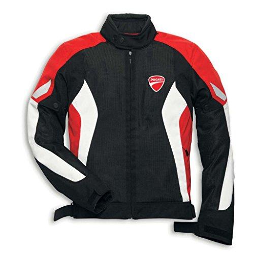 Ducati 981019616 Summer Mesh Riding Jacket - X-large