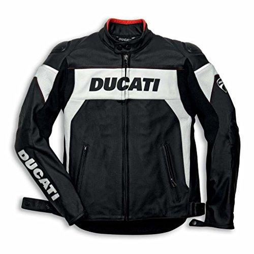 Ducati 981020948 Hi-tech Leather Riding Jacket - Size 48