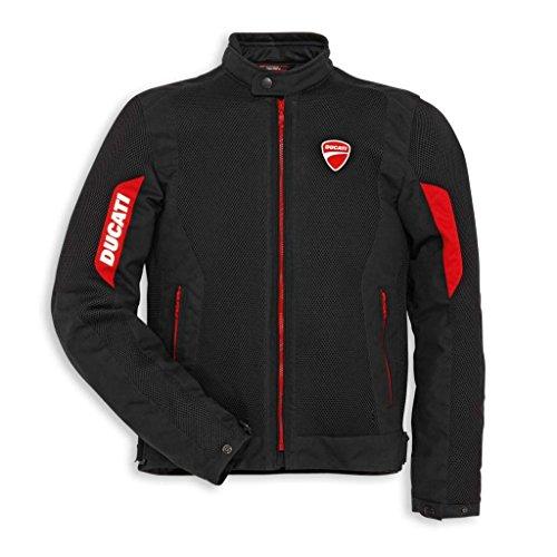 Ducati 981027955 Flow Textile Mesh Riding Jacket - Large
