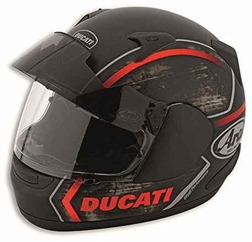 Ducati Arai Thunder Pro Full Face Motorcycle Helmet Black Large