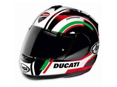 Ducati Corse RX-GP Corsair-V by Arai Motorcycle Helmet Italian Flag Colors Small