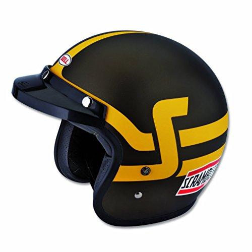 Ducati Scrambler Short Track Helmet - Brown Yellow Large