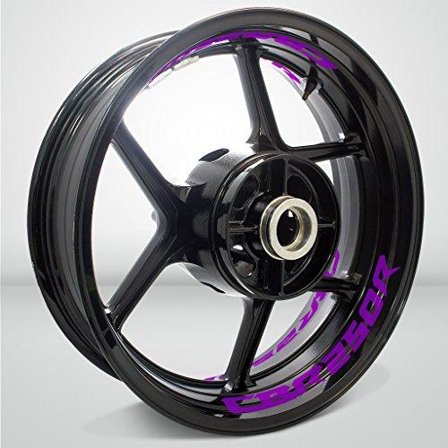 Matte Purple Motorcycle Inner Rim Tape Sticker Decal for Honda CBR 250R