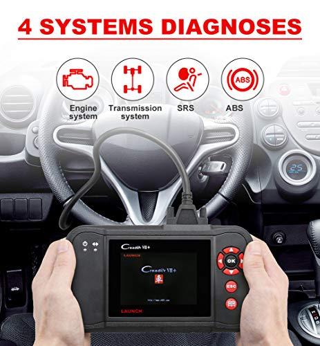 Launch Creader VII OBD2 Scanner ABS SRS Transmission and Engine Code Reader Diagnostic Scan Tool