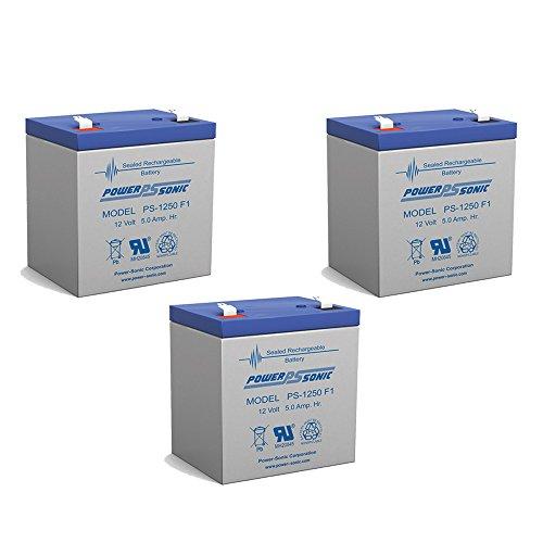12v 4ah Sealed Lead Acid Battery For Casil Ca1240 Alarm Control System - 3 Pack