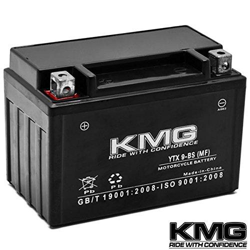 Kmg® Honda Eu3000 Generator 0-2011 Ytx9-bs Sealed Maintenace Free Battery High Performance 12v Smf Oem Replacement