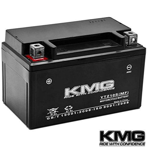 Kmg® Yamaha 600 Yzf-r6 Excl. R6s 2006-2012 Ytz10s Sealed Maintenace Free Battery High Performance 12v Smf Oem
