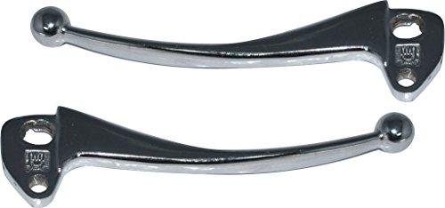 Chromed Clutch And Brake Lever Set Vespa PX LML