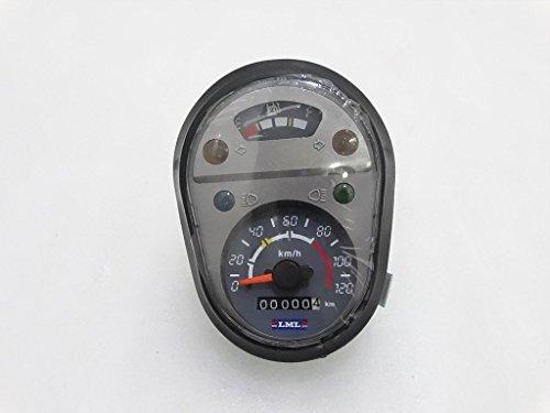 Royal Crusaders Vespa PX LML Express Speedometer 0-120 Kmph