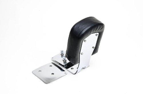 Bestem CHHD-DUC07-BR Chrome Backrest for Harley-Davidson Softail Deuce