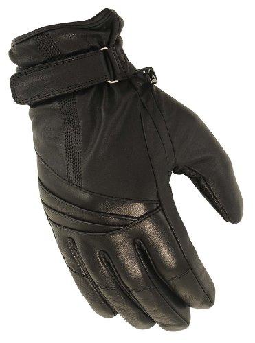 First Manufacturing Ladies Waterproof Gauntlet Gloves (black, Medium)